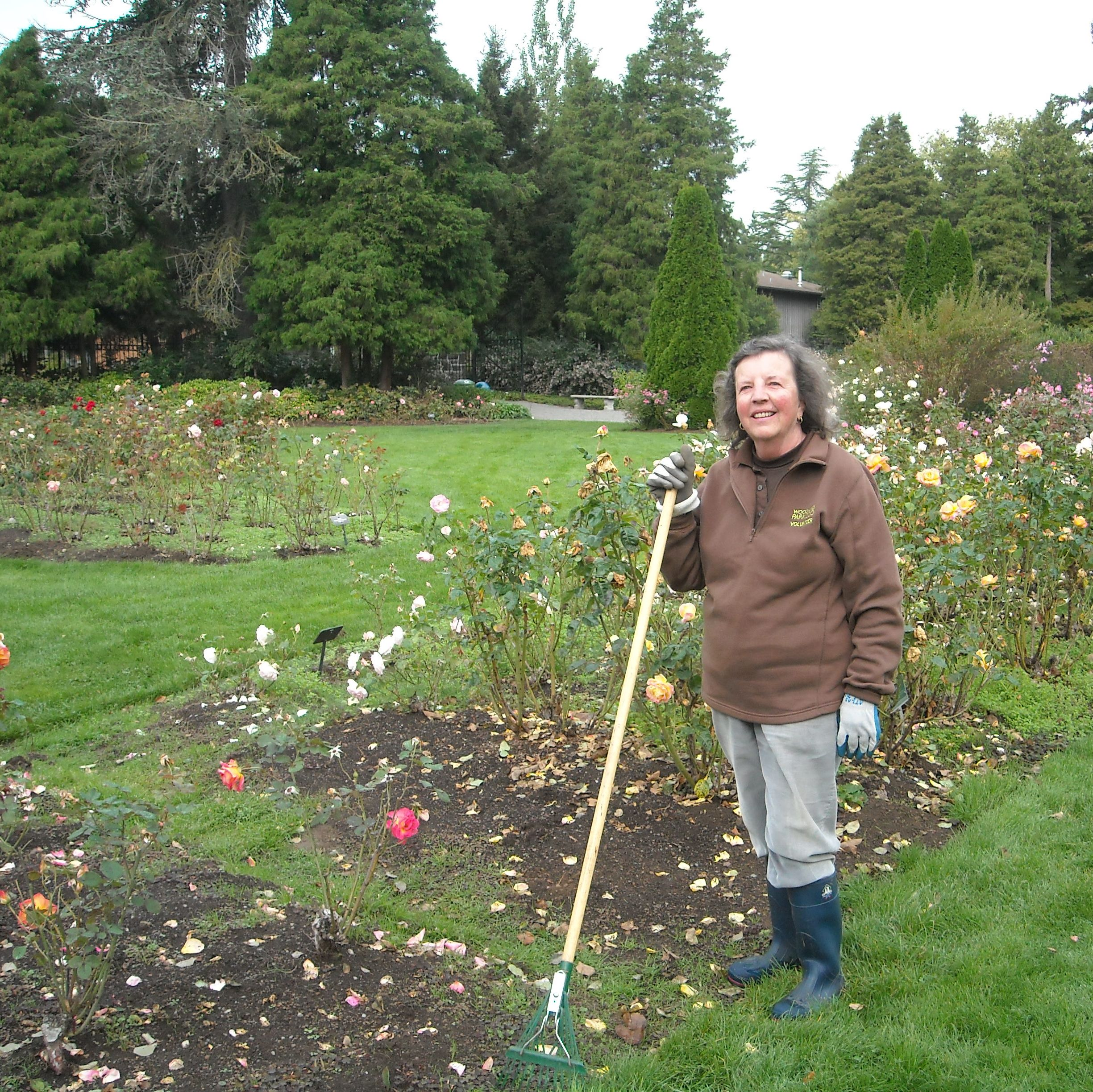 Volunteers Rose Garden