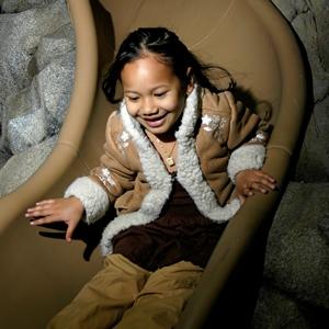 Girl on Slide Zoomazium