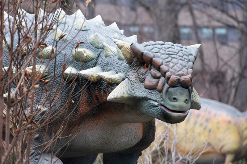 Gastonia Dinosaur