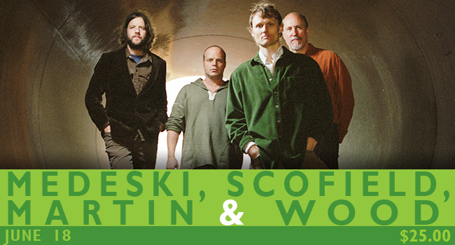 Medeski, Scofield, Martin and Wood