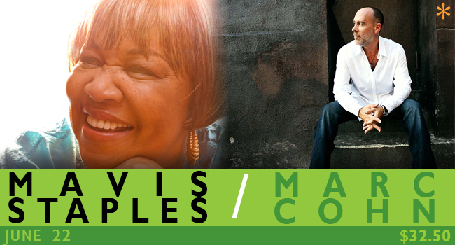 Mavis Staples / Marc Cohn