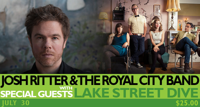 Josh Ritter with Special Guests Lake Street Dive