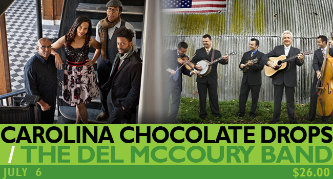 Carolina Chocolate Drops / The Del McCoury Band