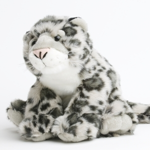 Snow leopard plush