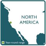 garter snake range map