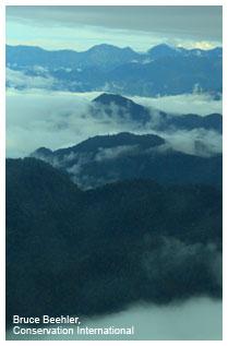 Huon Peninsula landscape
