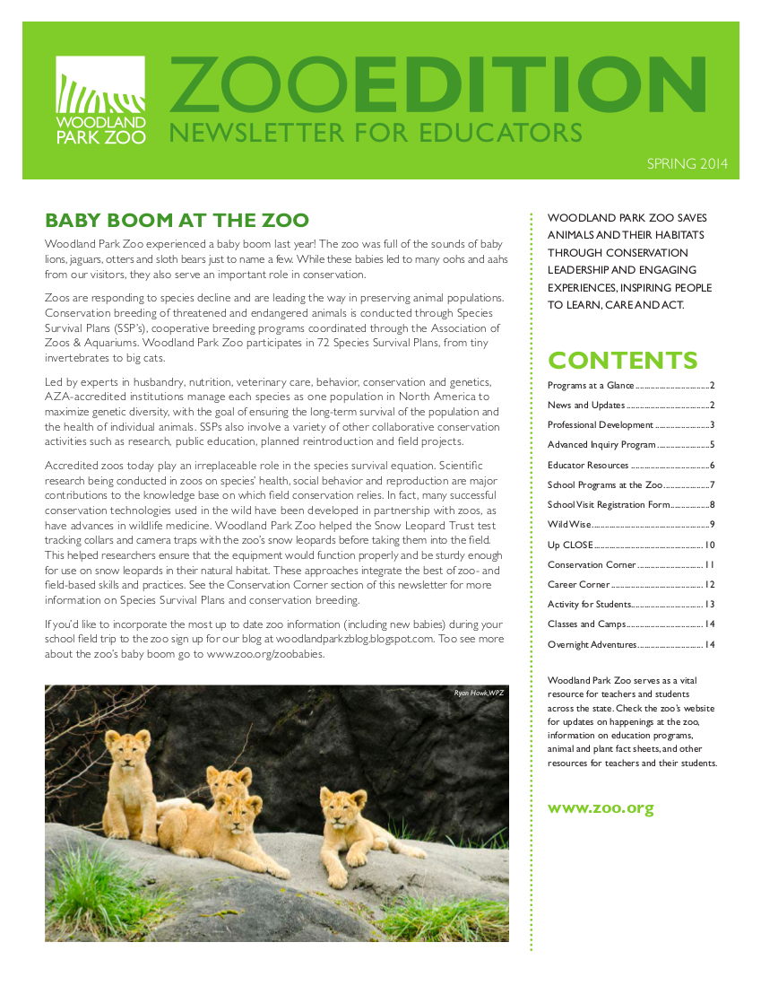 Zoo Edition cover